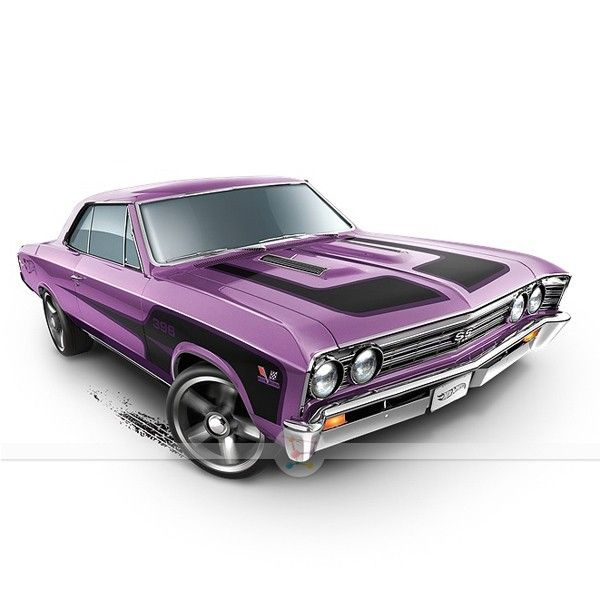 '67 Chevelle SS 396 - Hot Wheels