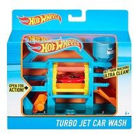 Фото Игровой набор Hot Wheels Турбо автомойка DWK99-4