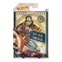 Фото Автомобиль Hot Wheels Marvel Captain America GDG83-3