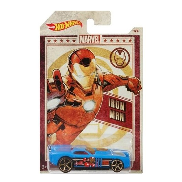 Автомобиль Hot Wheels Marvel Iron Man GDG83-1