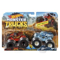 Фото Набор Hot Wheels Monster Trucks 2 автомобиля FYJ64-3