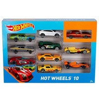 Фото Набор из 10-ти  базовых автомобилей Hot Wheels 54886